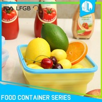 Airtight silicone portable food container homes for sale