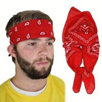 2015 Hot Sell Fashion Men Bandana Headwear Hair Band Scarf Neck Wrist Wrap Band Hair Styling Head Accessories Headband