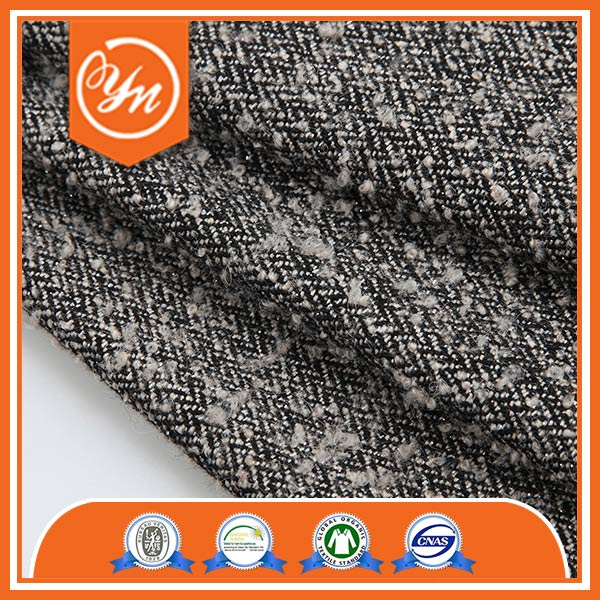Hot sale BV certified W/T Thick wholesale homespun fabric