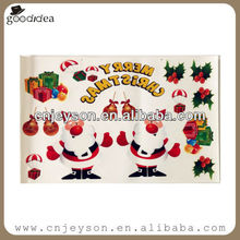 ST022 christmas holiday vinyl decoration window static clings