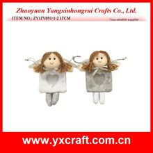 Christmas decoration (ZY17Y091-1-2 17CM) angel hanging ornament gift