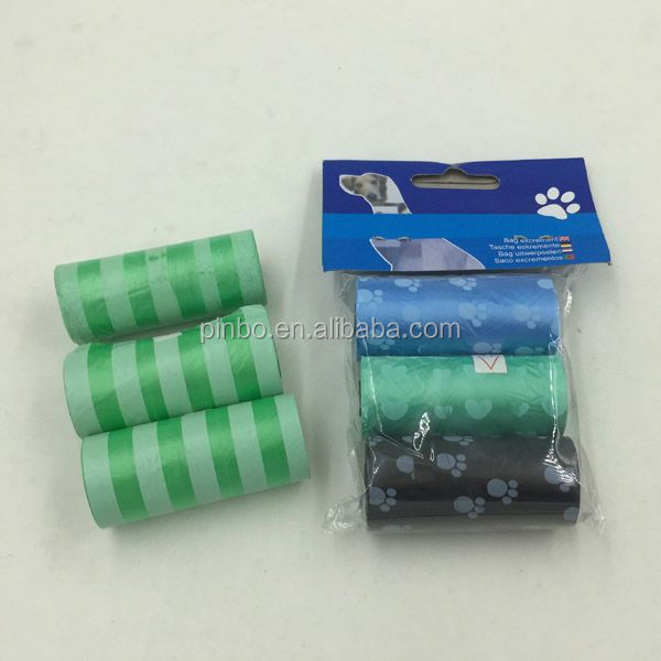 Popular Plastic Biodegradable Dog Poop Bag On Roll
