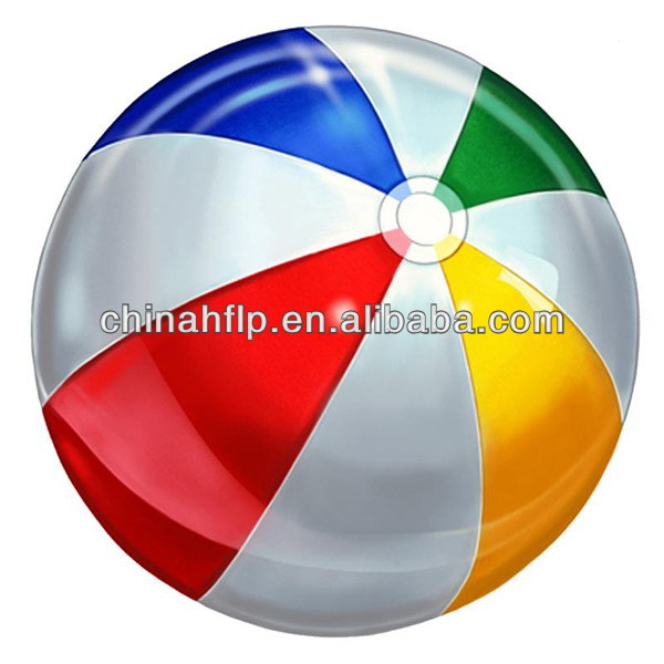 Folded leading 2013 new products inflatable beach ball
