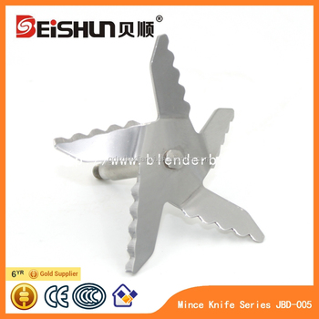 Stainless steel blender blade