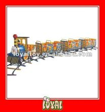 China Produced high quality 2012 kiddie plastic toy train with good Price & good Quality