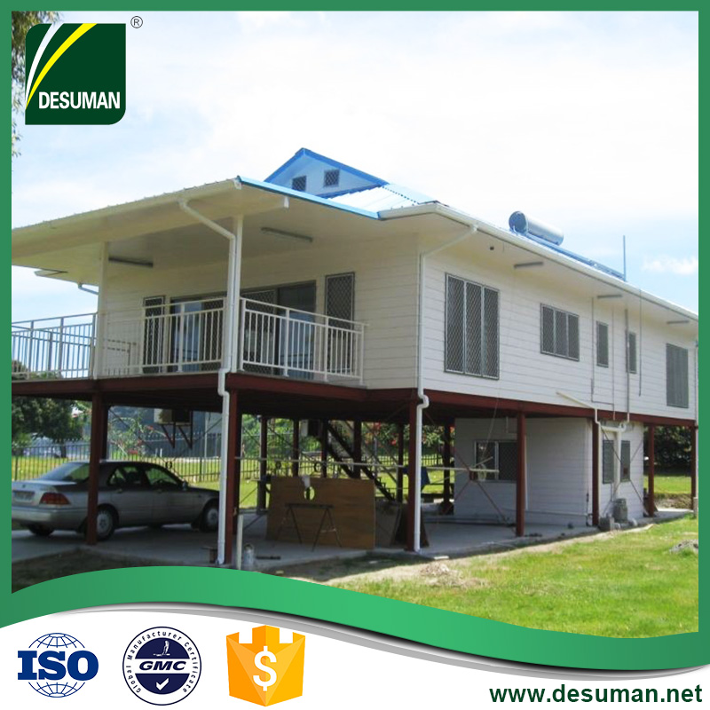 DESUMAN t-bars plans steel building 20ft bungalow frame log prefabricated house