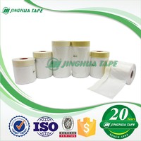 Trade Assurance House Painting Furniture Protection Film Pretaped Vinyl Masking Film