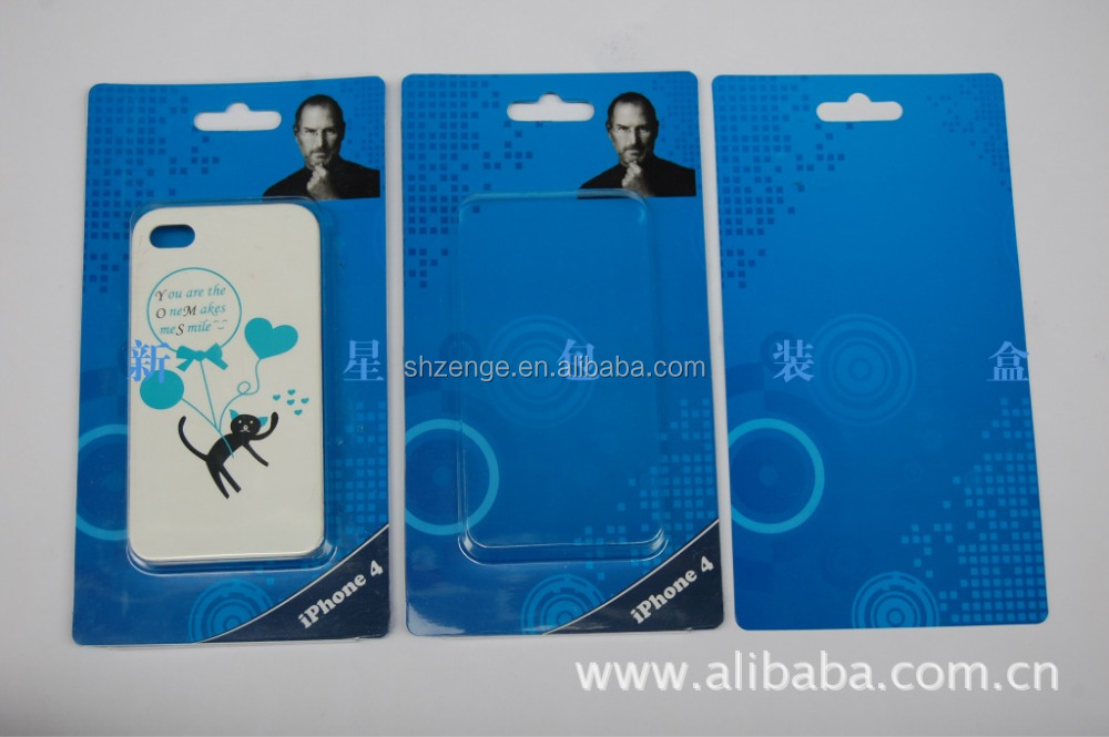 electronic use, mobile phone case Blister Packaging, electronic accessories blister package