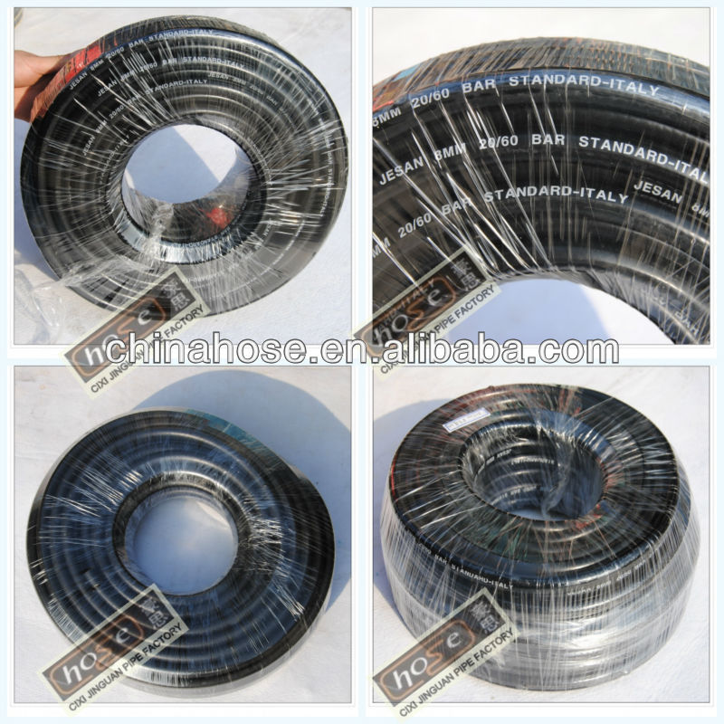 Black Corrugated Flexible PVC Gas Hose/Pipe/Tube ,Plastic Gas Hose From Factory