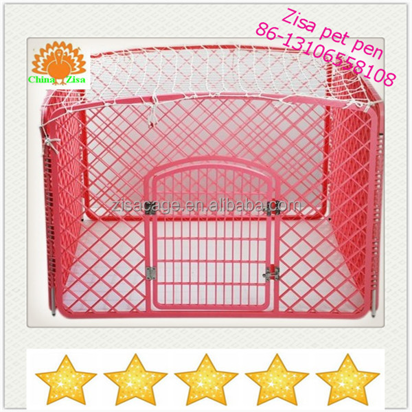 factory Plastic dog pen crate