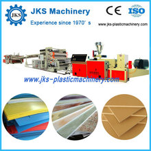 Top Quality PP PE PVC PS ABS Disposable Plastic Sheet Extruder Machine