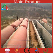 Biogas producing waste water treatment aerator for big piggery