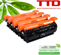 TTD Color Toner Cartridge CF360A CF361A CF362A CF363A for HP 508A