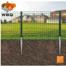 The cheapest of mesh fencing with ground screw anchor