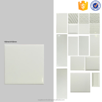 China white ceramic bathroom wall tile 10x10, art interior kitchen cheap tiles
