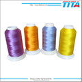 China supplier polyester threads embroidery yarn