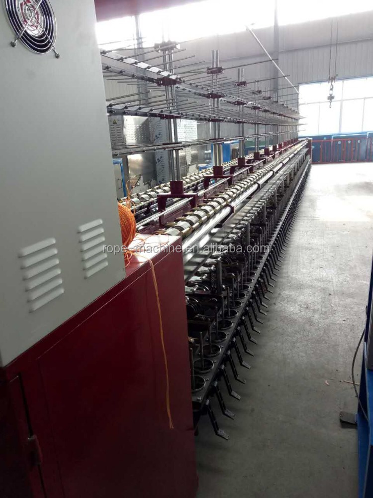 DTY polyester yarn double ring spinnning twisting machine