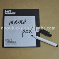 fridge magnet note pad with magnet pen