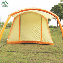 High-strength quick-open tunnel air conditioner camping tent