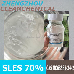 Sodium Lauryl Ether sulphate 70% & SLES 70% & 2016 new factory product