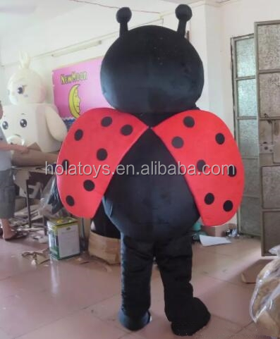 Hola ladybug mascot costume/cartoon character costume