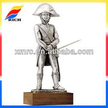 French solider republican army alloy pewter die cast miniature toys