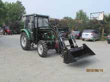 Weifang CP machinery high quality 4 wheel drive 60hp greenhouse tractor made in China