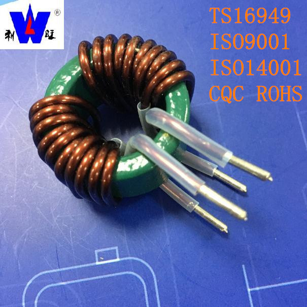 Stable working performance high current power chokes 10mH