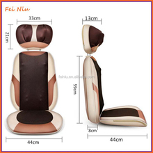 Shiatsu car massage cushion relaxing back massager for chair heated back massage cushion