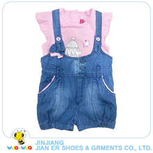 China suppliers cheap kids clothing girls summer clothes sets