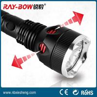 most powerful led strong light flashlight with power led torch