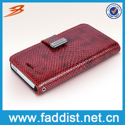 New Arrival Wallet Smart Phone Case for iphone5