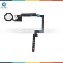Gold Home Button Key Finger Touch Assembly Replacement Part for iPad Mini 3 Flex Cable