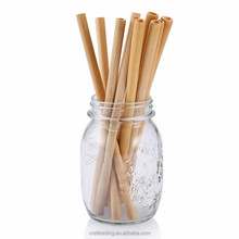 Narural fragrance biodegradable bamboo/paper drinking straws