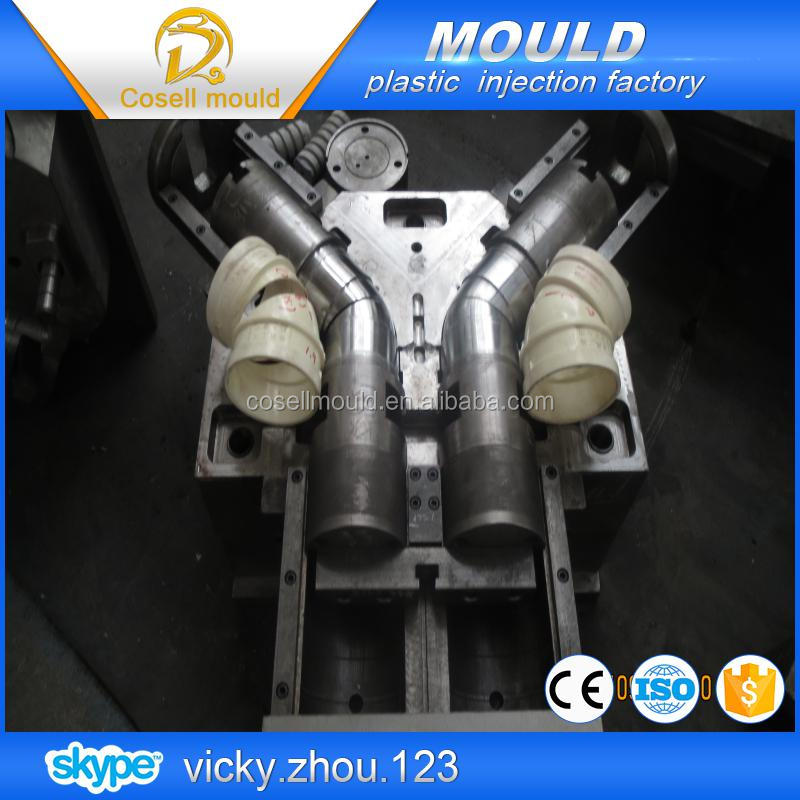 pvc injection moulding ppr pipe mould tee mould vacuum calibrator sleeve