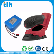 Specified 24V 6Ah lithium battery for sander power tool with 20C discharge rate cell