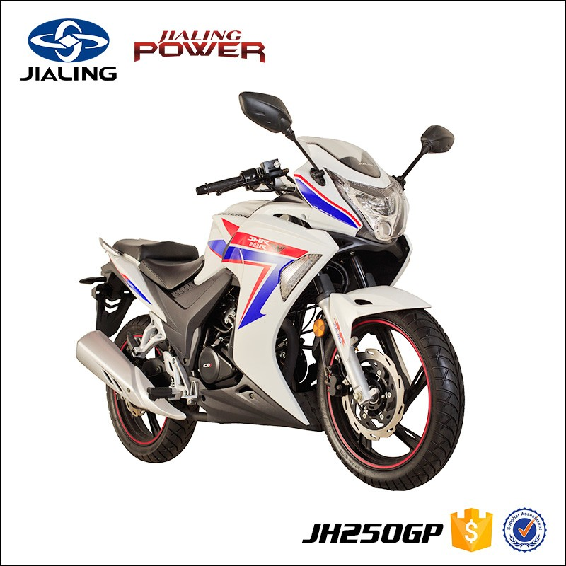 JH250GP EEC Approved Gasoline 250cc Street Bike Racing Motorcycle