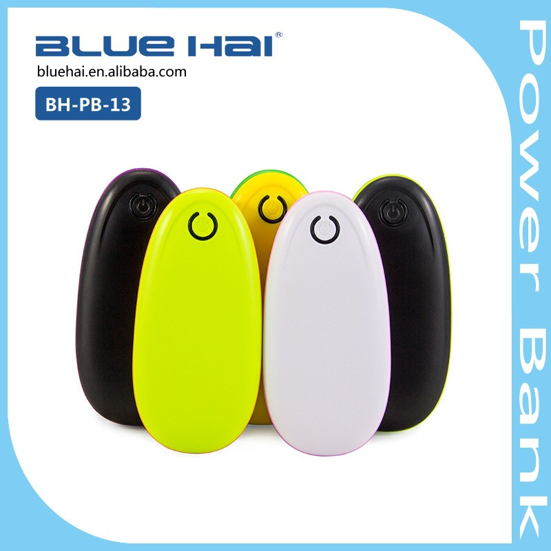 Promotion Gift Colorful Small Power Bank,Desktop Power Bank,Small Size Power Bank 4000 Mah Portable Power Bank
