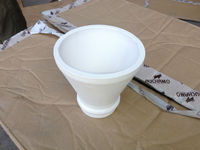 24# white clay high crushing strength al2o3 pouring cup for sale