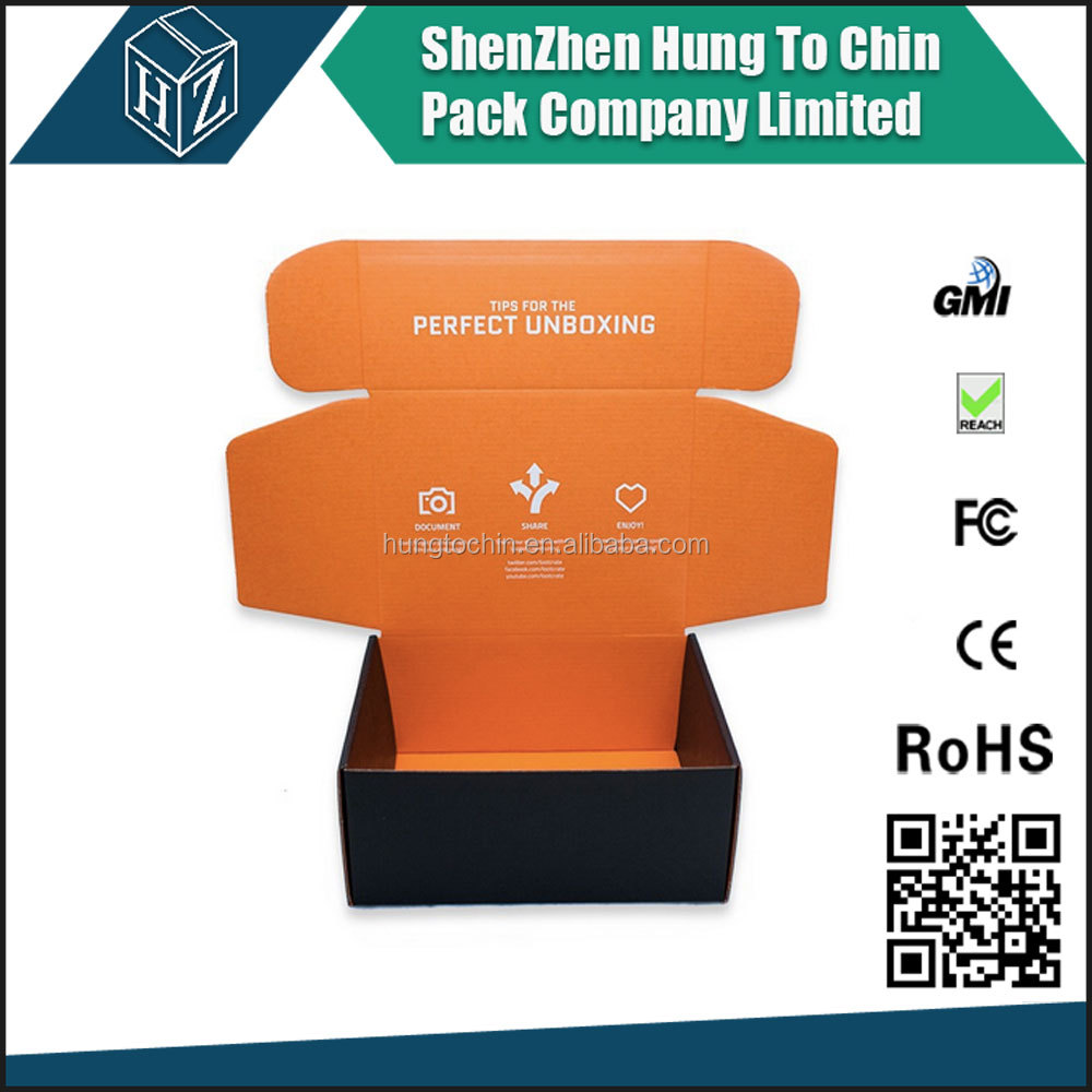 Color Printed Corrugated Boxes, Custom Cosmetic Set Package Carton Boxes