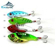 Chentilly CH14LP1 metal VIB fishing lure 5.5cm 11g vibration lure set 6pcs set hard bass metal blade