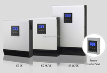 KS-2000VA Solar Power Inverter with Built-in PWM Solar Charge Controller