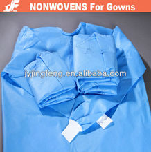 EN13795 Medical Nonwoven SMMS Fabric For Surgical Gowns