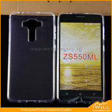 Ultra Clear TPU Case For Asus Zenfone 3 Accessory , Soft TPU Gel Phone Accessories For Asus Zenfone 3 Cover Shell