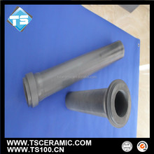 advanced industrial ceramic silicon nitride si3n4 dosing tube, riser tube for aluminum casting