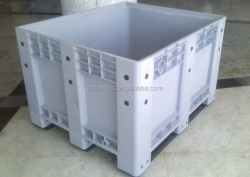 Largest capacity Plastic pallet box used for fruit and vegetable