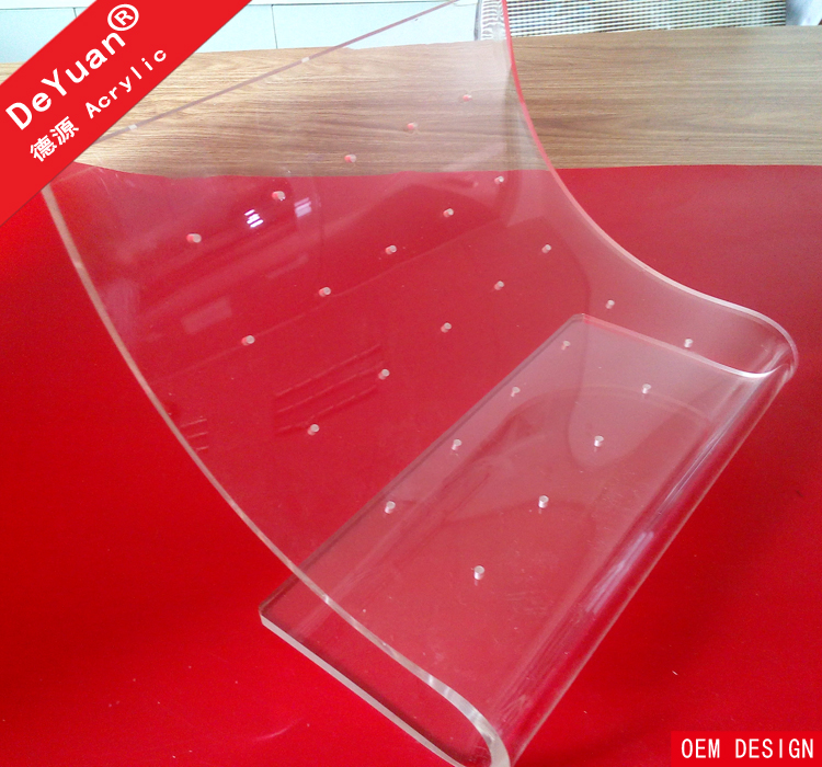 Transparent acrylic lillipop display stand / plastic candy rack