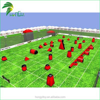 Guangzhou Outdoor Inflatable Paintball Bunkers