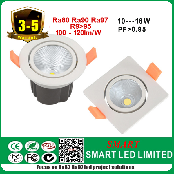 High quality hotel project ceiling cre*e citize*n Lustrou*<strong>s</strong> led 15w cob spot light
