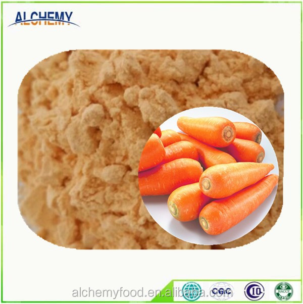 Food ingredients dried carrot powder